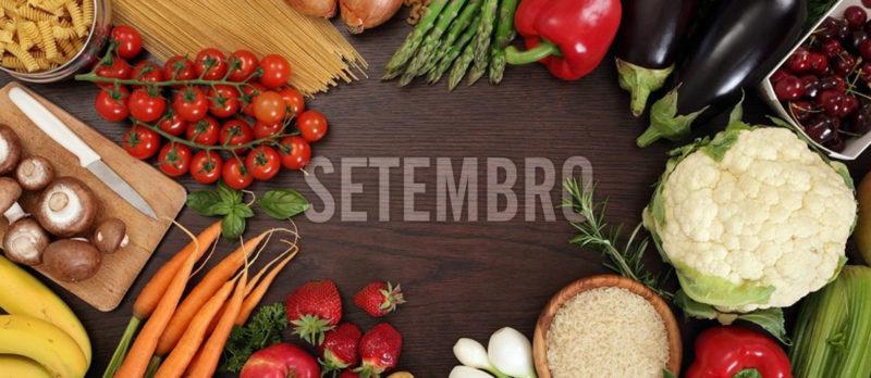 Menú de setembro